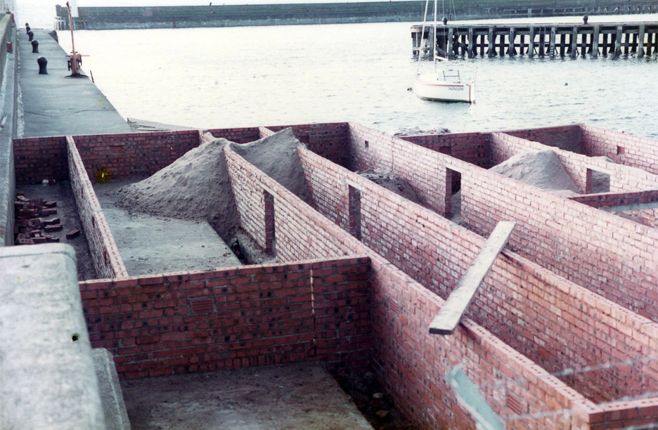 The brickwork layer