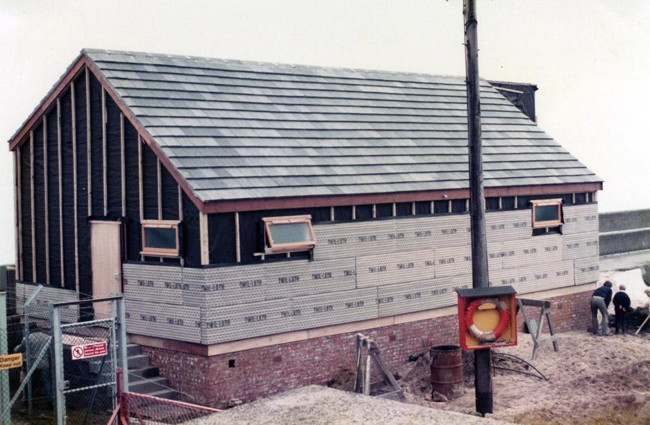 Addition of insulation