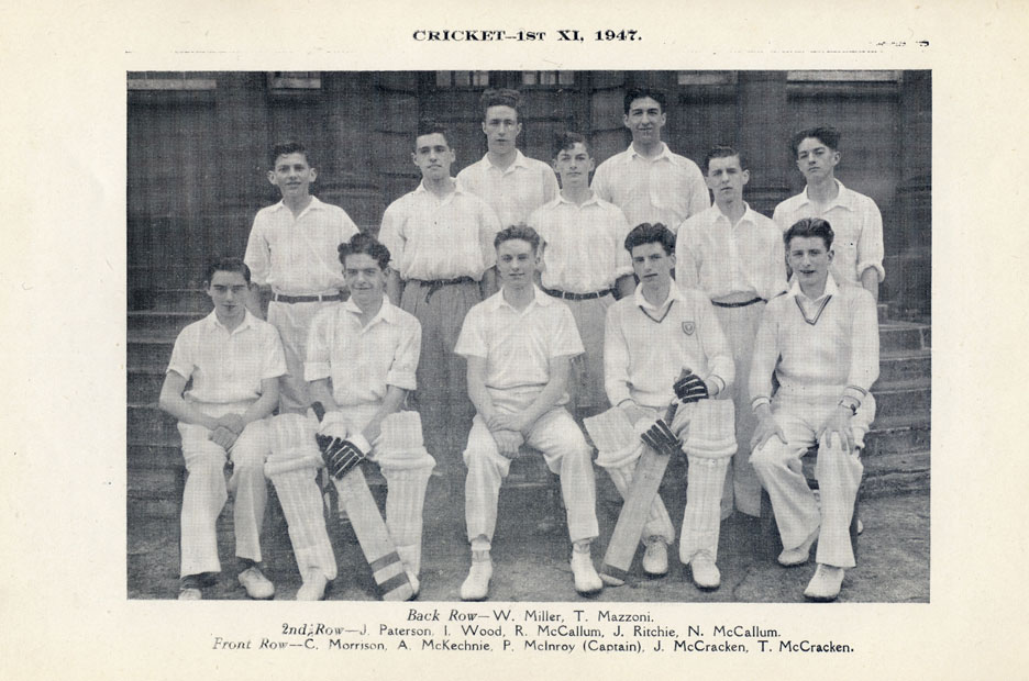 The first 11 - cricket